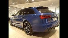 New 2016 Ascari Blue Audi Rs6 Performance 605 Ps In