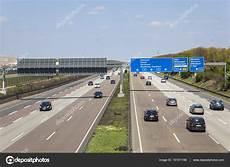 Autobahn A5 In Deutschland Redaktionelles Stockfoto