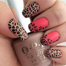 leopard nail designs design trends premium psd vector