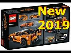 New 2019 Lego Technic Chevrolet Corvette Zr1