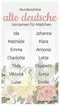 Alte Deutsche Vornamen - bezaubernder vintage charme 54 tolle altdeutsche