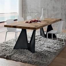 tavolo per soggiorno moderno tavolo da pranzo con gambe di design jeor arredaclick