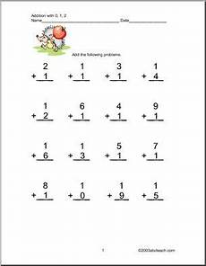 one digit addition worksheets with pictures 9629 worksheets addition 1 digit two addends one digit columns numbers 0 1 and 2 four pages