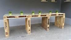 Palettenm 246 Bel Tisch Aus Europaletten Bauen Theo