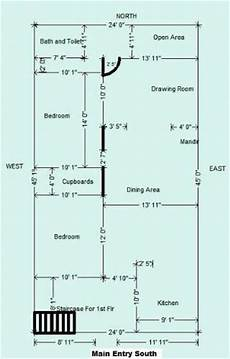 vastu south facing house plan vastu layout for south facing plot www vaastudrishti com