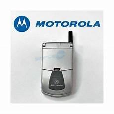 telefon handy motorola startac 130 silver gsm sim schale