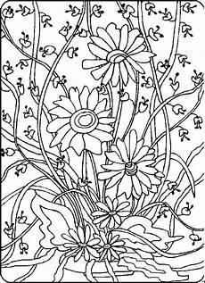 Malvorlagen Blumen Ranken Kostenlos Bild Mit Ranken Ausmalbild Malvorlage Blumen