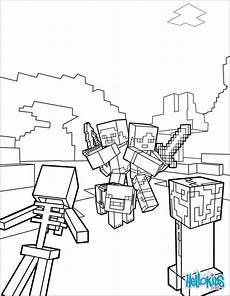 Malvorlagen Minecraft Pe Minecraft Coloring Coloringgamesminecraft