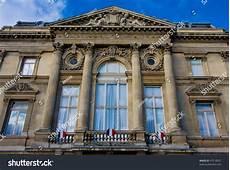 photo du général de gaulle prefecture de lille at the place de la republique stock