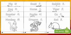 new year animals coloring pages 17108 new year story animals colouring pages mandarin
