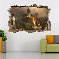 Harry Potter Hogwarts Smashed Wall Decal Wall Sticker