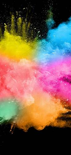 Iphone Xs Max Wallpaper Water by Wallpaper Colorful Smoke Splash Abstract Black