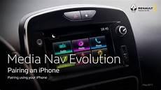 Media Nav Evolution Pairing An Iphone