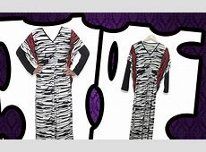 ORCHID SHOP: BL  6079 Zebra Dress