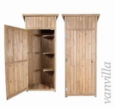 Kleiner Geräteschuppen Holz - ger 228 teschrank ger 228 teschuppen vanvilla gartenhaus holz