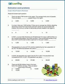 word problems with rounding decimals worksheets 7585 estimating and rounding word problem worksheets for grade 5 k5 learning