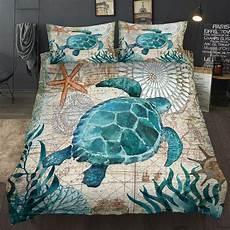 ocean series sea turtle seahorse dolphins 3d bedding comforter bedding sets octopus