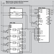 kromschroder flame relay pff 704 for pf 19 burner control system 84372510