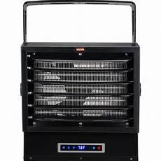 electric garage dyna glo 10 000 watt dual heat electric garage heater with