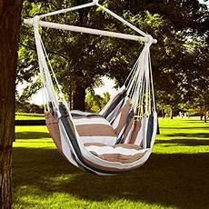 amaca per giardino kinlo 174 amaca a poltrona sedia sospesa da giardino con