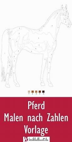 malen nach zahlen pferd in 2020 malen nach zahlen malen
