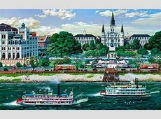Jackson Square New Orleans wallpapers   Jackson Square New