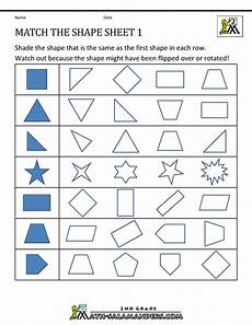 worksheets on shapes for grade 1 1214 transformation geometry worksheets 2nd grade