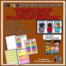 earth science prologue worksheets 13357 earth science vocabulary classroom activities distance learning