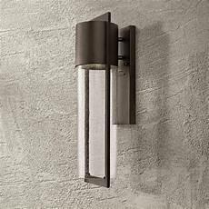 hinkley shelter 20 1 2 quot h led buckeye outdoor wall light 3j035 ls plus