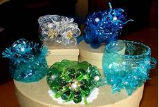 riciclare bicchieri di plastica creazioni di letizia nuovi lavori con bottiglie pet