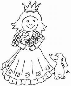 Ausmalbilder Prinzessin Hund Ausmalbild M 228 Rchen Prinzessin Mit Hund Kostenlos Ausdrucken
