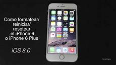 iphone 8 0 finanzierung como resetear formatear reiniciar a fabrica iphone 6 ios 8