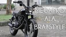 Megapro Modif Japstyle by Ridingimpression Modifikasi Honda Megapro Ala Bratstyle