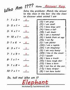 riddles worksheets for grade 3 3rd grade math multiplication worksheets who am i riddles by teach at home
