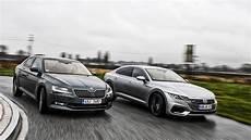skoda superb vs volkswagen arteon