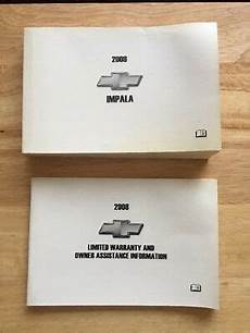 service manuals schematics 2008 chevrolet impala on board diagnostic system 2008 chevrolet impala owners manual book chevy oem