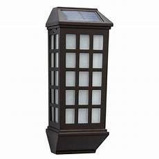 hton bay mission style outdoor solar deck lights 2 43041 the home depot