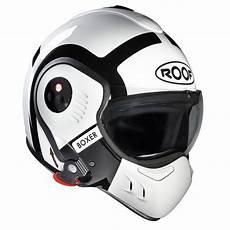 casque roof v8 casque roof boxer v8 bond blanc casque modulable