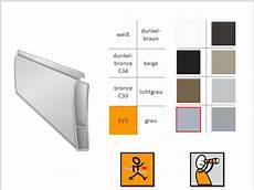 kunststoffgrosshandel endleiste aluminium hohlkammer