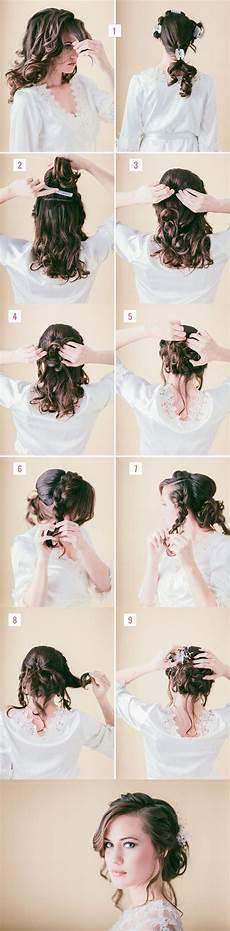 10 Easy Tutorials To Make Wedding Hair Pretty Designs