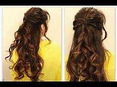cute twisted flip half up updo hair tutorial everyday