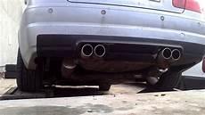 bmw e46 323i m3 exhaust zadne tlmice wm sport