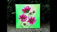 Acryl Malvorlagen Blumen Blumen Malen Acryl F 252 R Anf 228 Nger Easy Flowers Acrylic