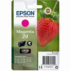 cartouche epson 29 fraise epson fraise 29 magenta cartouche imprimante epson sur