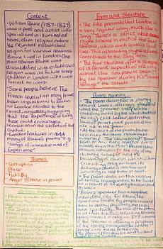 london revision page context themes writers message