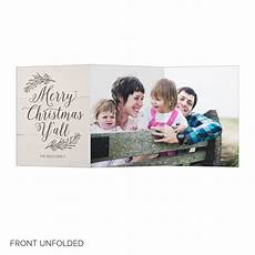 merry christmas y all trifold christmas card pear tree