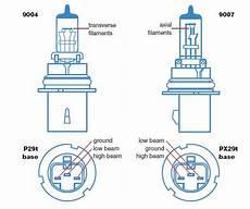 9007 Bulb Wiring Diagram 9007 headlight bulb conversion for 1987 1991 trucks ford