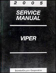 car maintenance manuals 2005 dodge viper auto manual 2005 dodge viper repair shop manual original