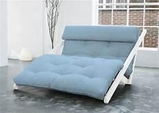 letto futon divano letto futon figo karup in legno bianco