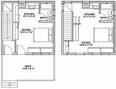 20x20 house plans 20x20 duplex 20x20h2 683 sq ft excellent floor
